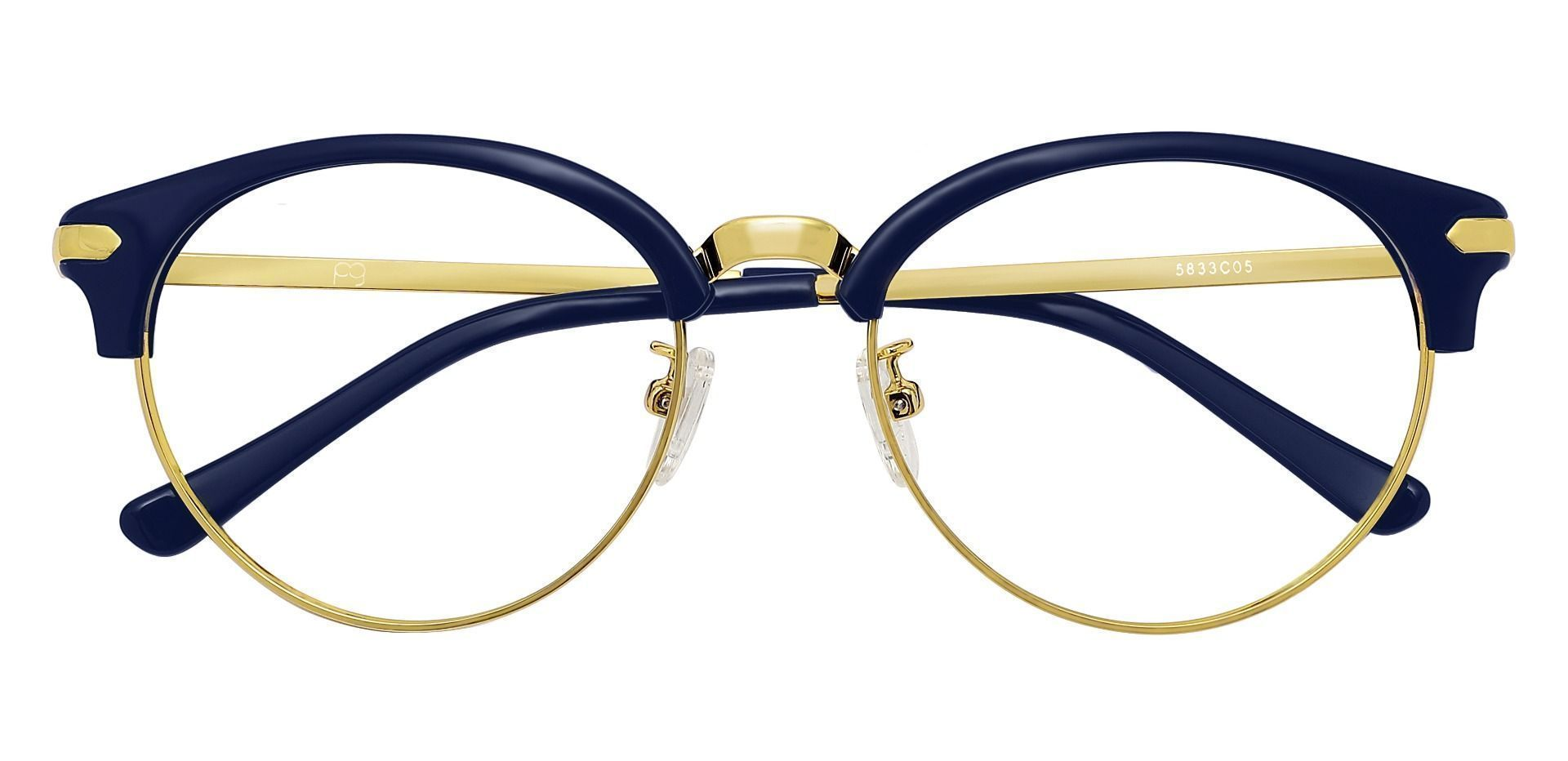 Forsyth Browline Prescription Glasses - Blue