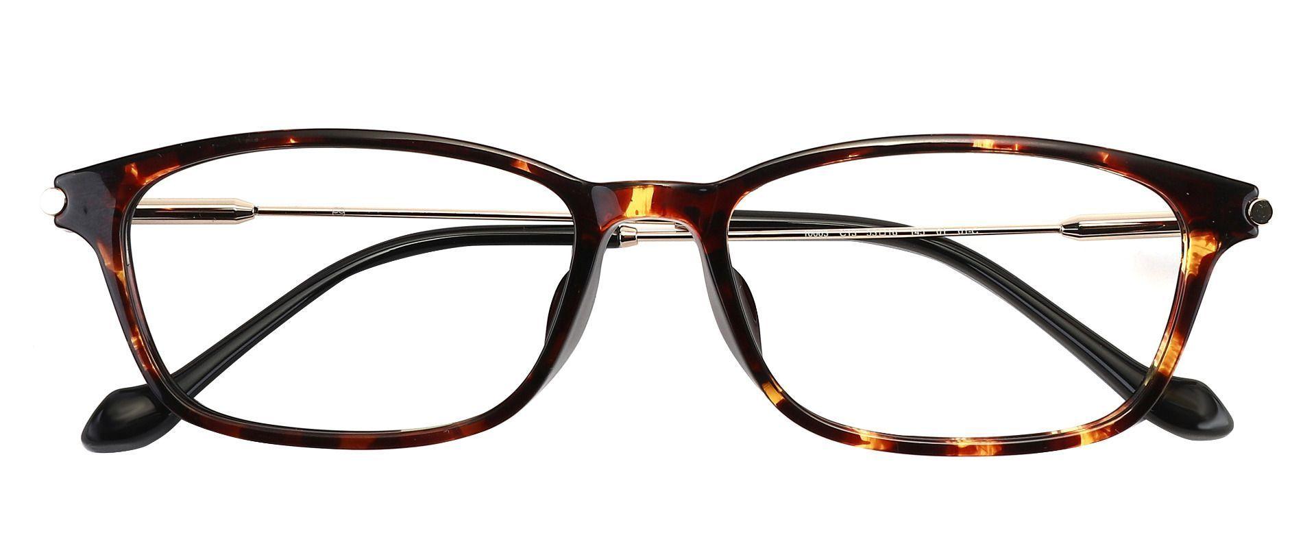 LaBelle Rectangle Prescription Glasses - Tortoise