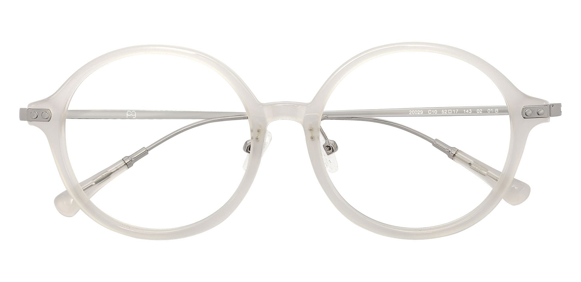 Princeton Round Prescription Glasses - Clear