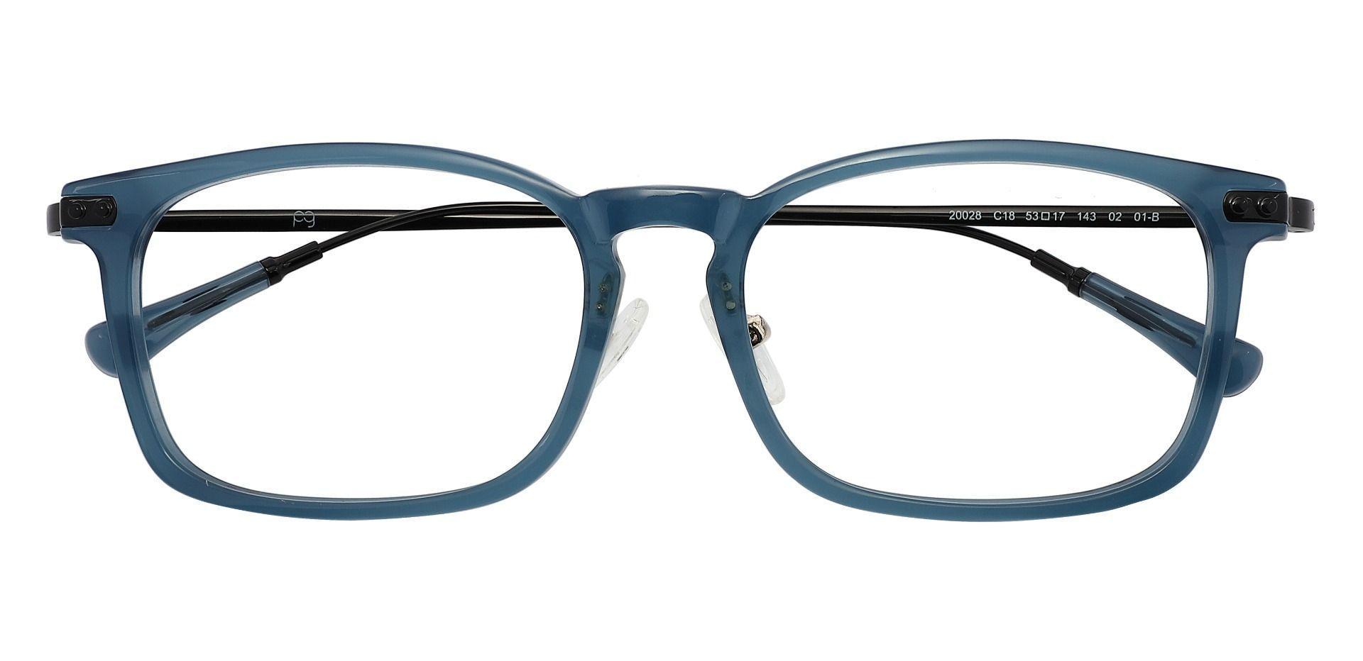 Barron Rectangle Reading Glasses - Blue