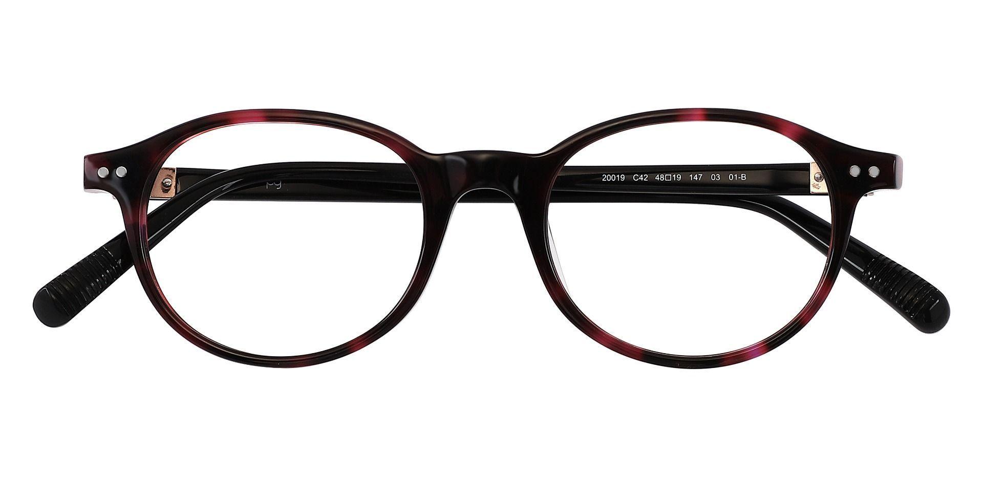 Avon Oval Eyeglasses Frame - Tortoise