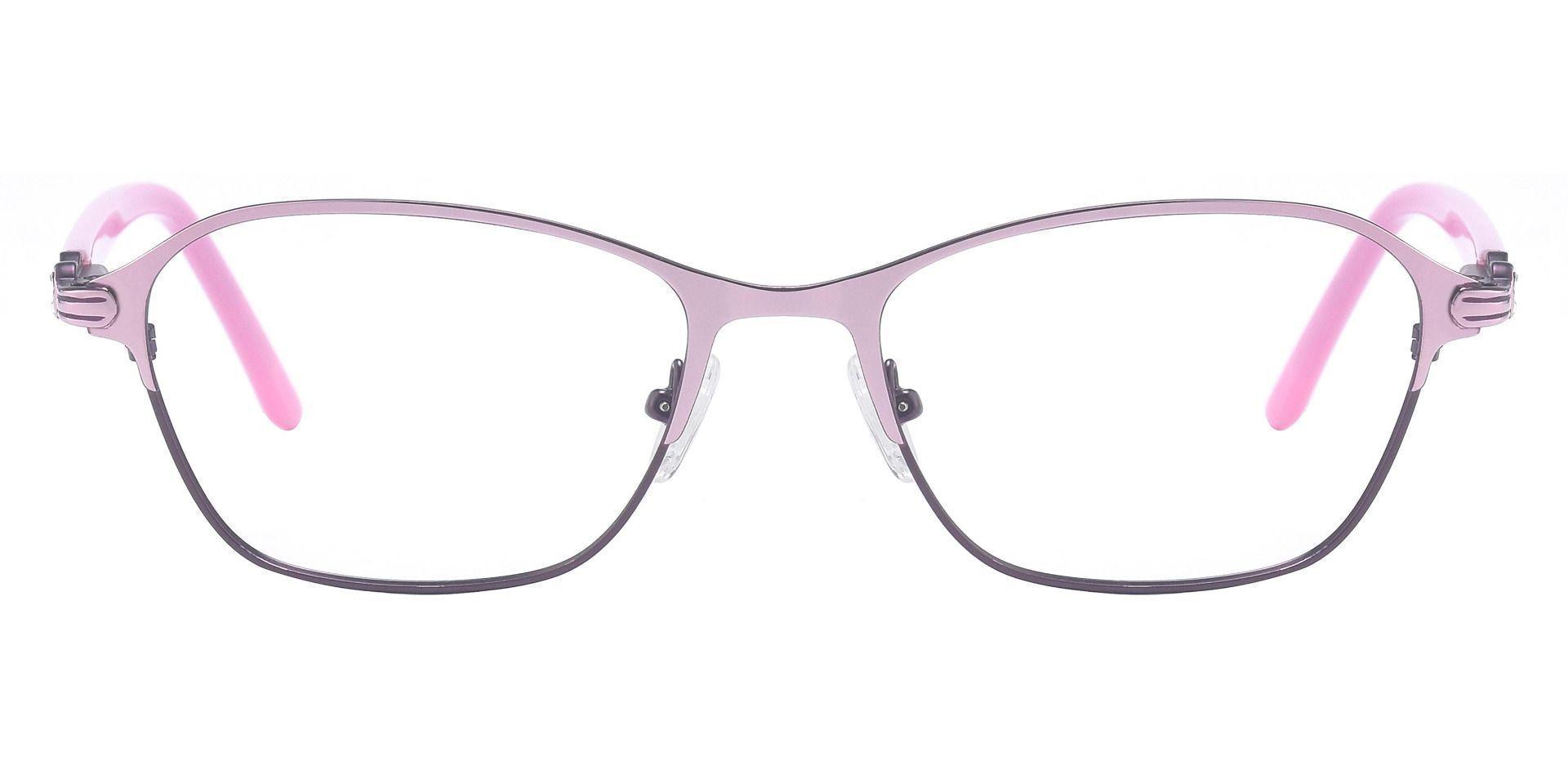 Maria Geometric Reading Glasses - Rose Gold