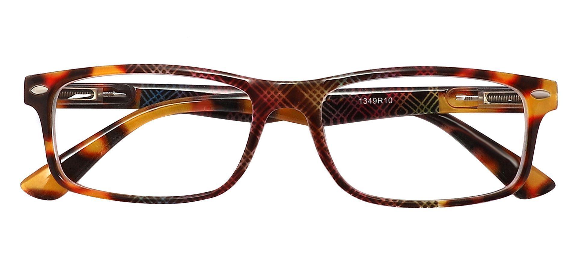 Elfrida Rectangle Non-Rx Glasses - Two