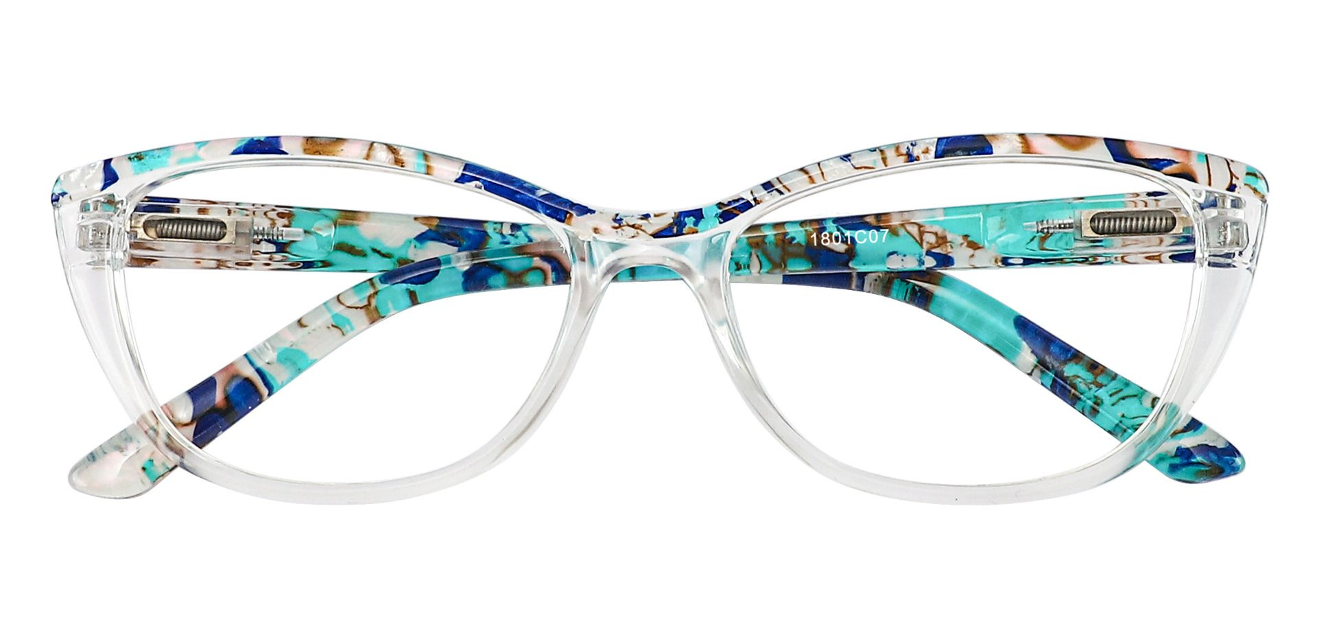Florence Cat Eye Prescription Glasses - Blue