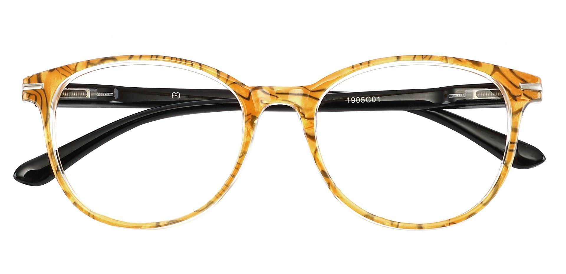 Benton Oval Progressive Glasses - Tortoise