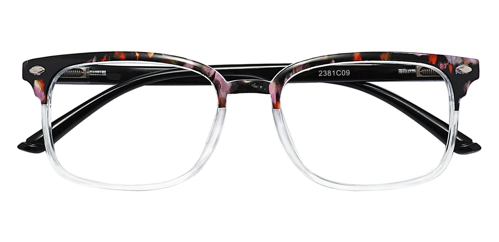 Nikola Rectangle Blue Light Blocking Glasses - Two