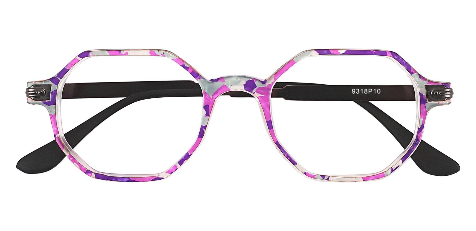 Bogart Geometric Prescription Glasses - Purple