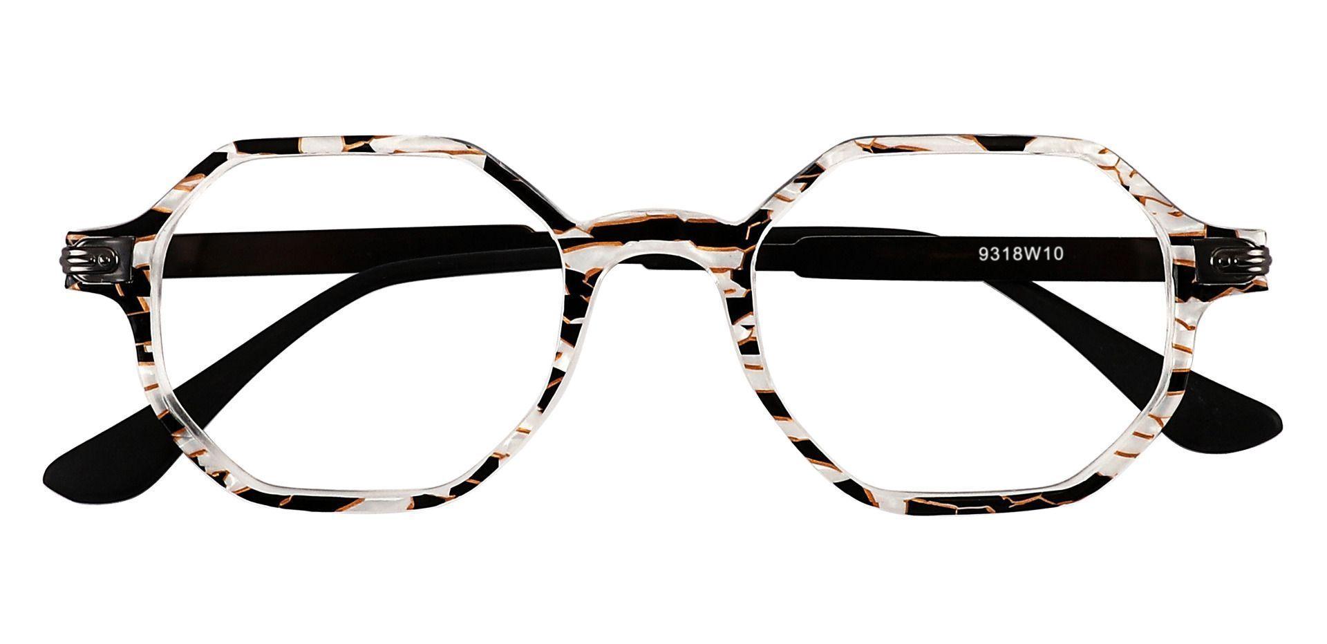 Bogart Geometric Eyeglasses Frame - Floral