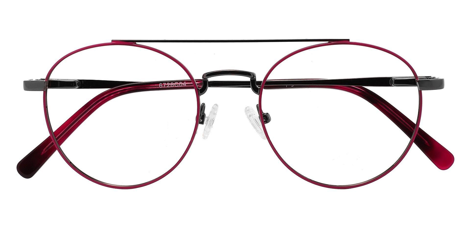 Tasha Aviator Prescription Glasses - Red