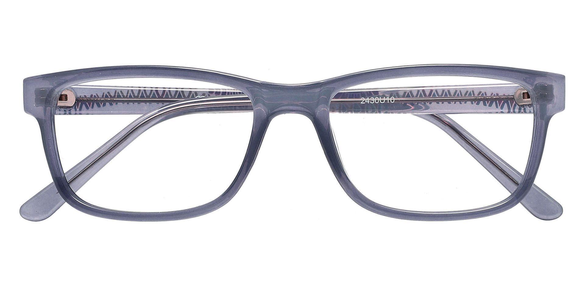 Cory Rectangle Prescription Glasses - Blue
