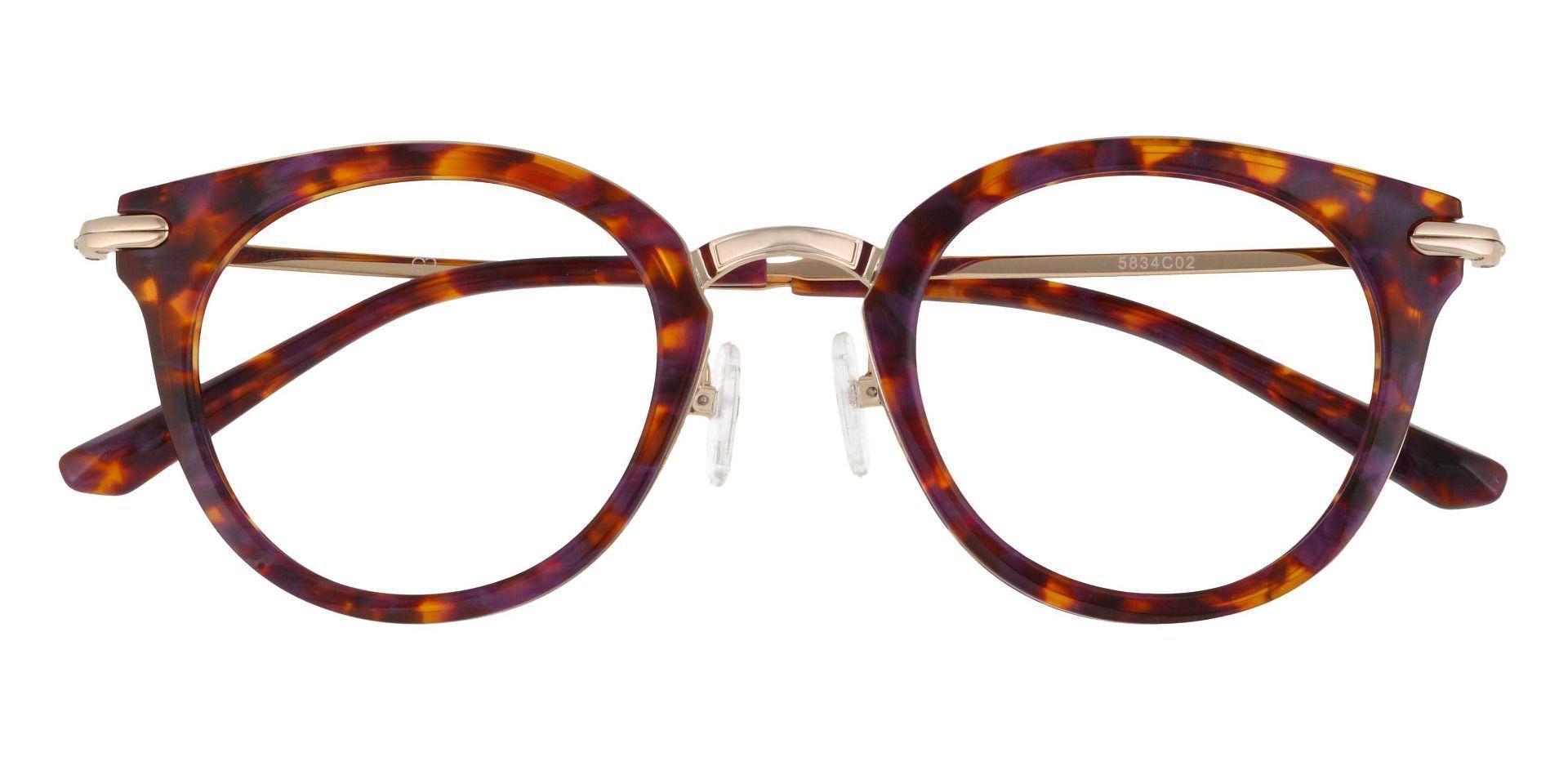 Seneca Round Prescription Glasses - Floral