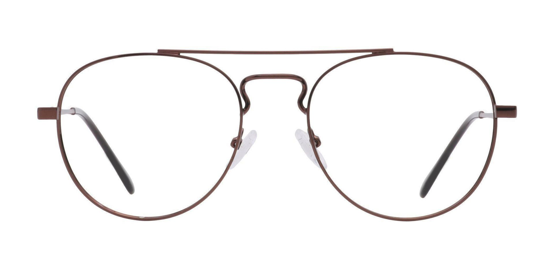 Trapp Aviator Lined Bifocal Glasses - Brown