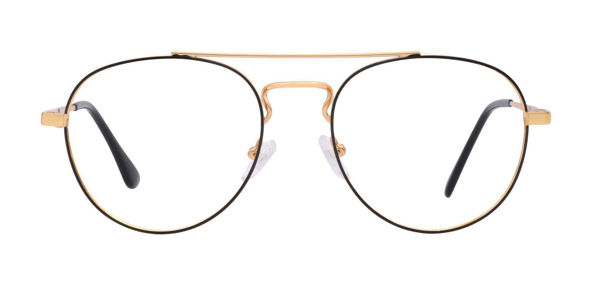 Trapp Aviator Prescription Glasses - Yellow