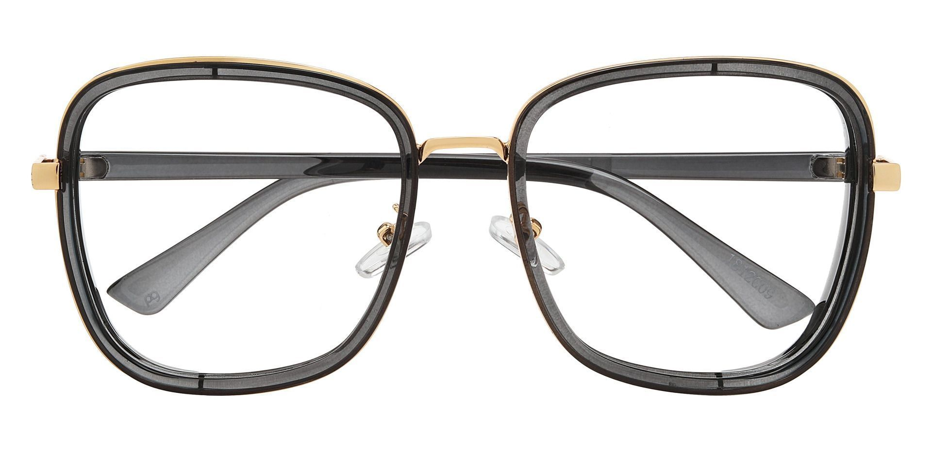 Shimmer Square Single Vision Glasses - Gray