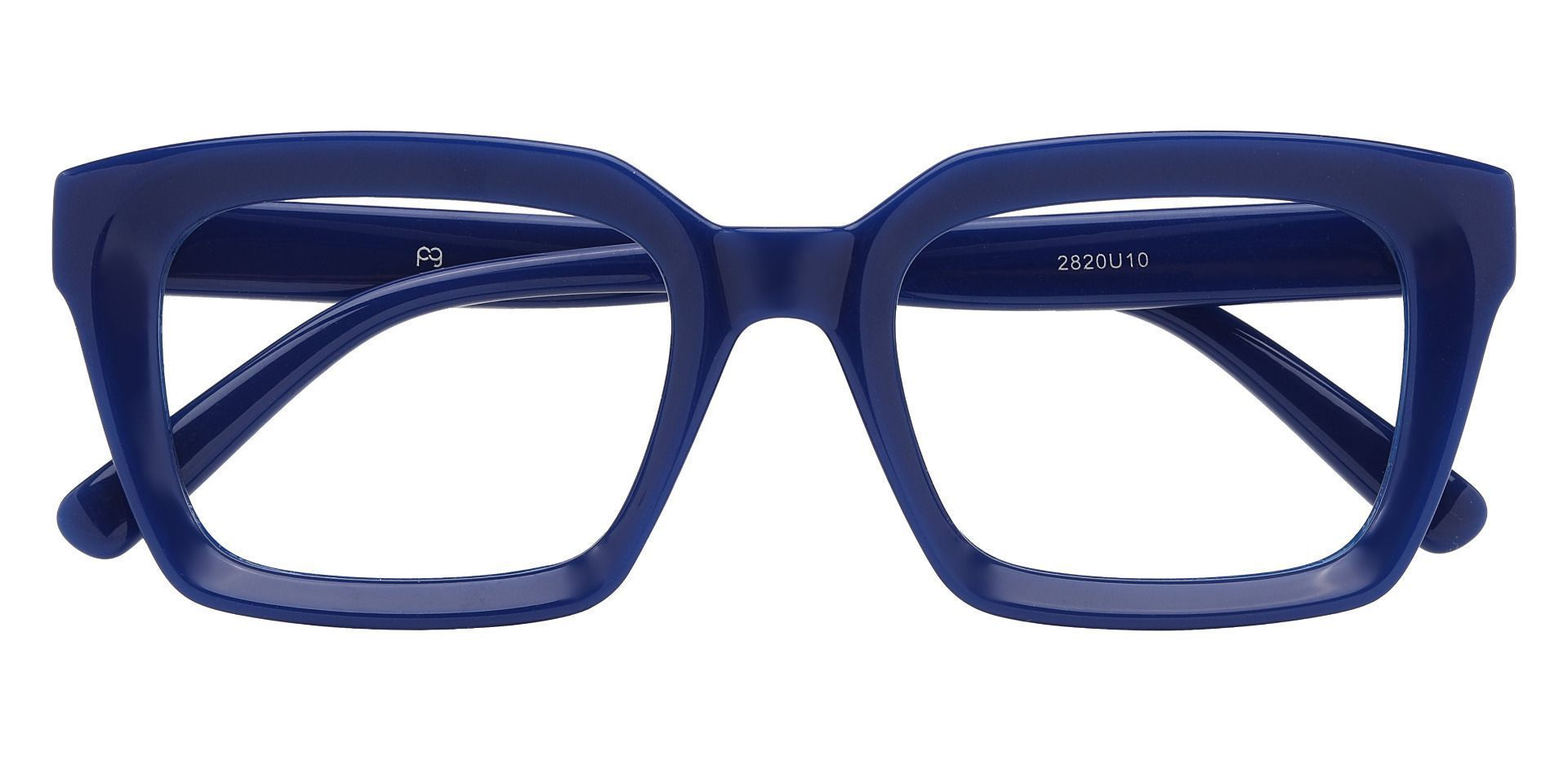 Unity Rectangle Prescription Glasses - Blue