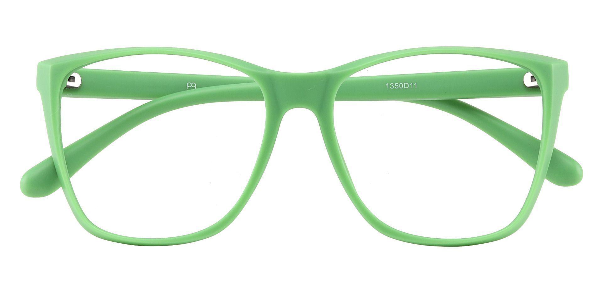 Hickory Square Prescription Glasses - Green