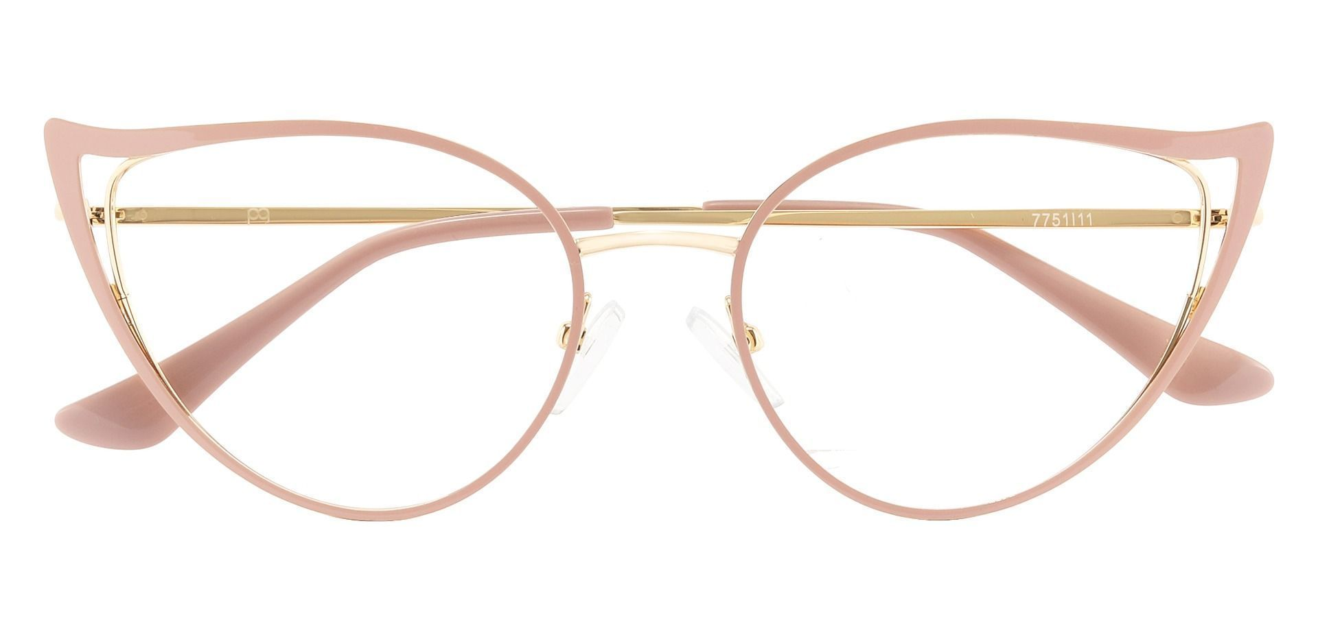 Wanda Cat Eye Prescription Glasses - Pink