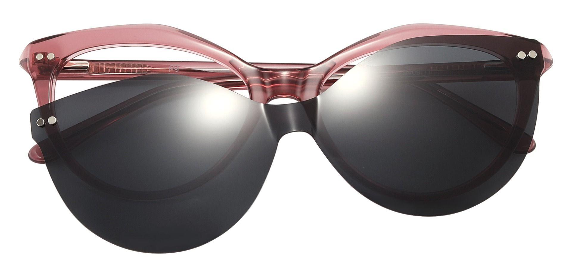 Avery Cat Eye Prescription Glasses - Pink