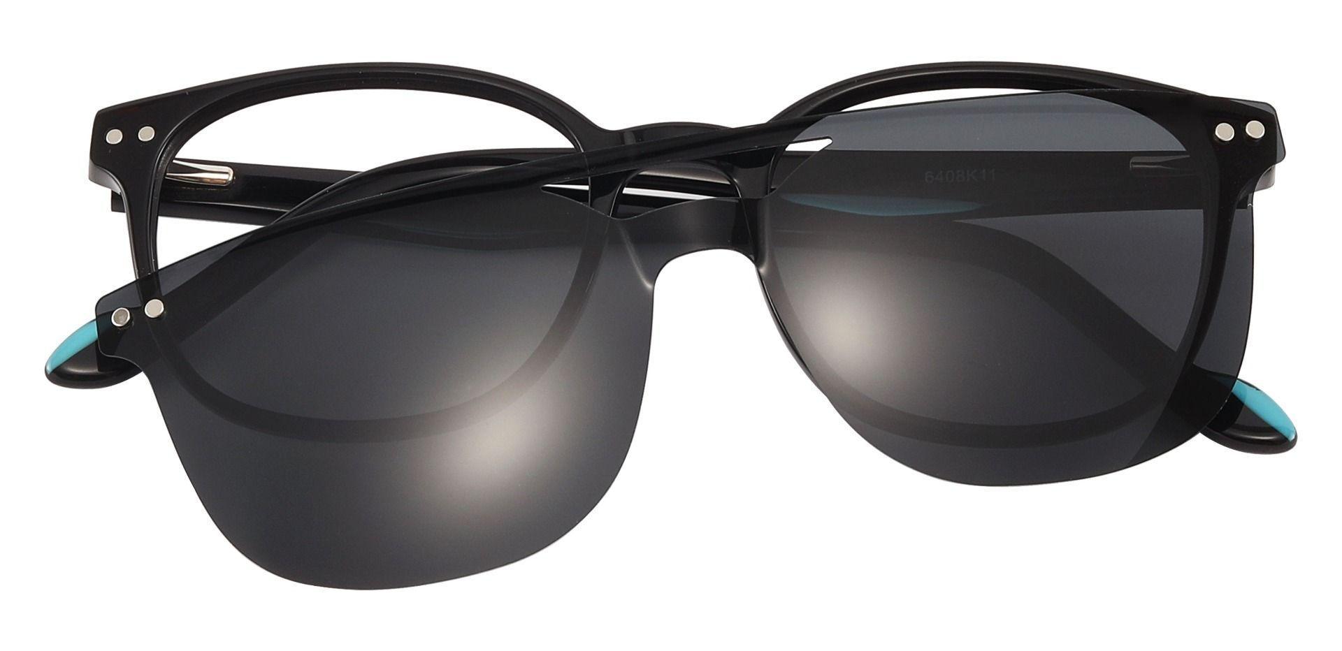 Jena Oval Prescription Glasses - Black