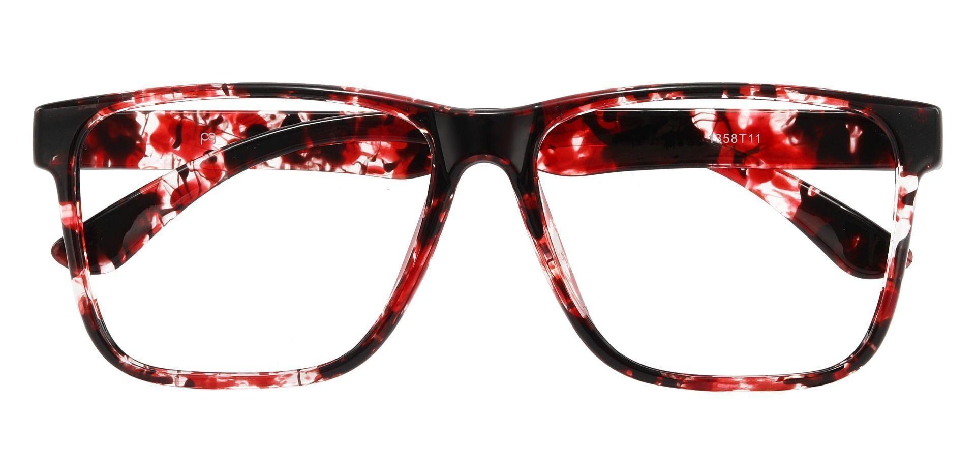 Barnum Square Prescription Glasses - Tortoise