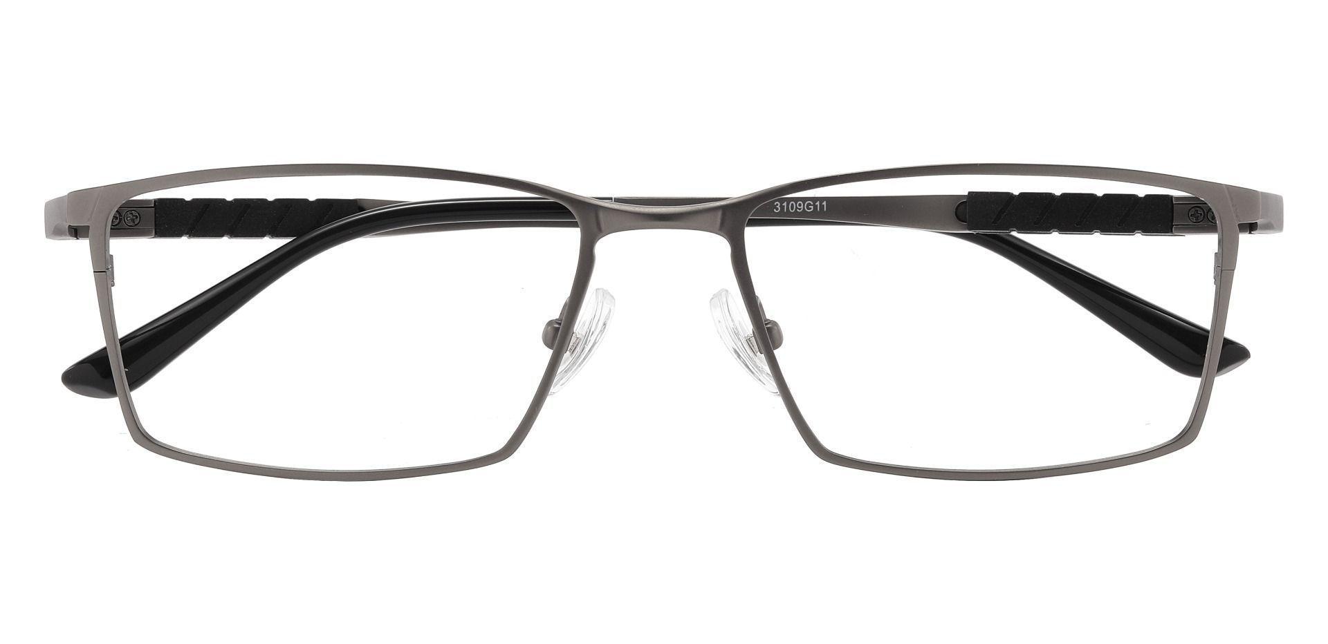 Elmore Rectangle Prescription Glasses - Gray
