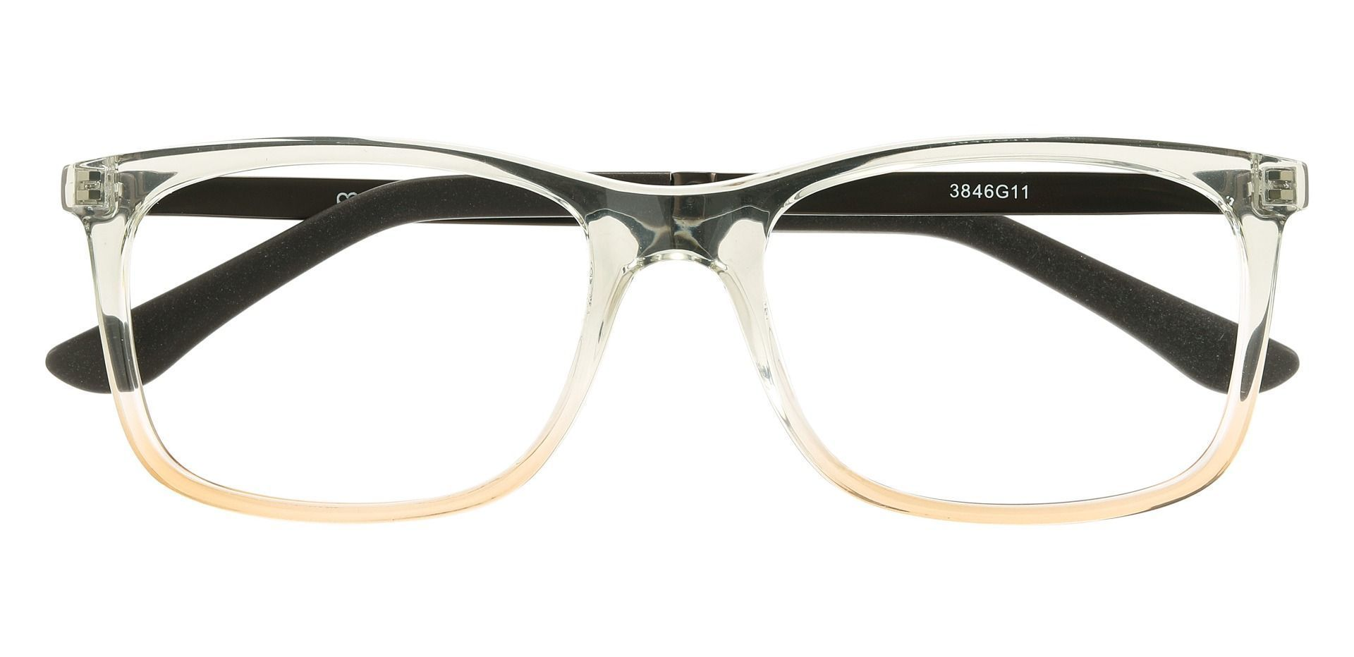 Kemper Rectangle Prescription Glasses - Gray