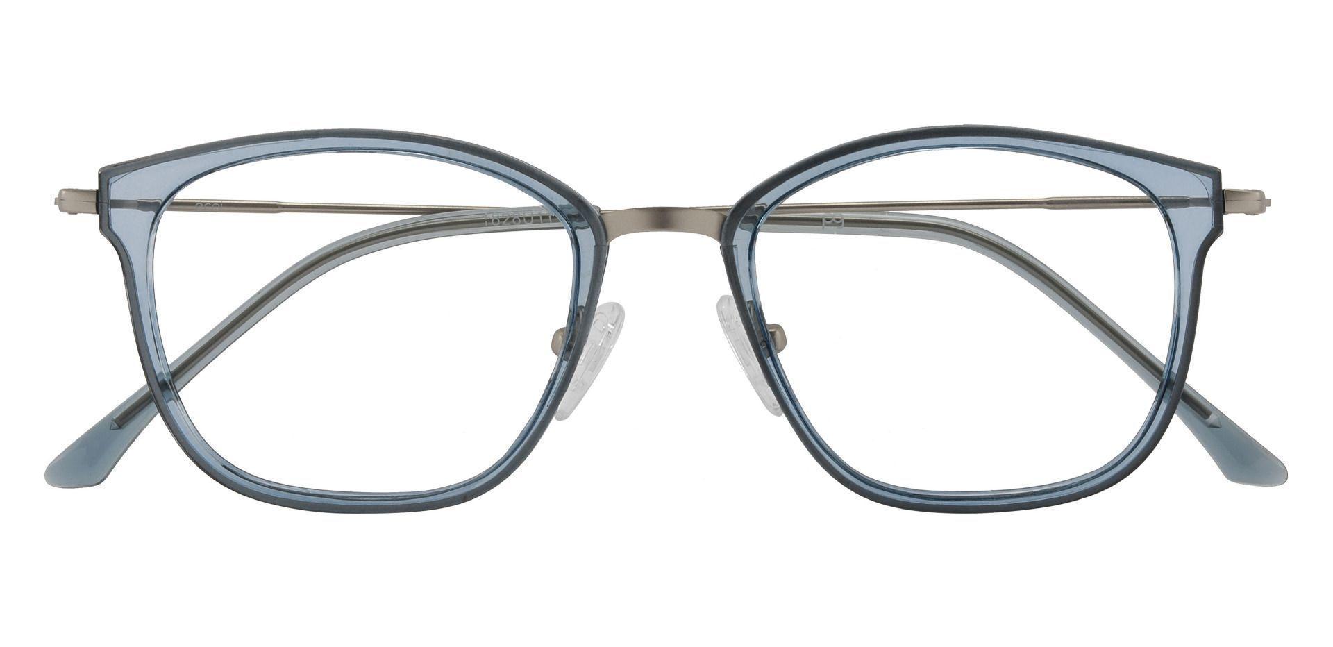 Brooklyn Square Prescription Glasses - Blue