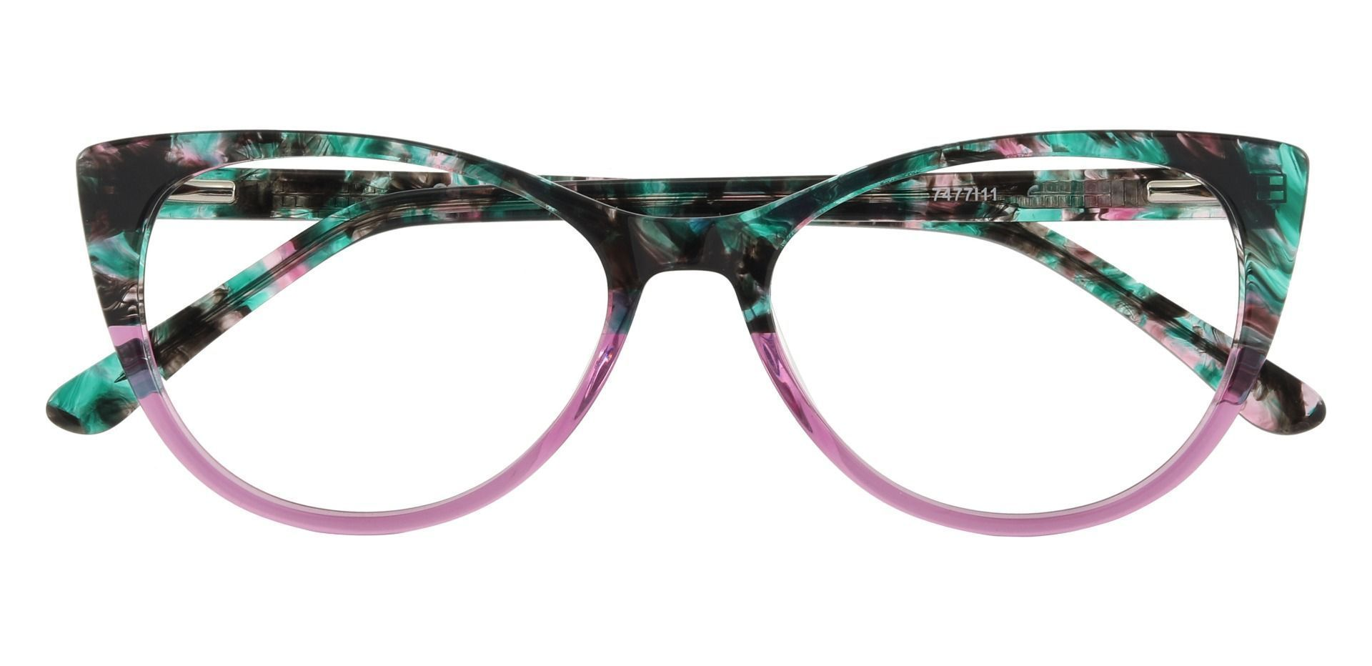 Valmora Oval Prescription Glasses - Pink