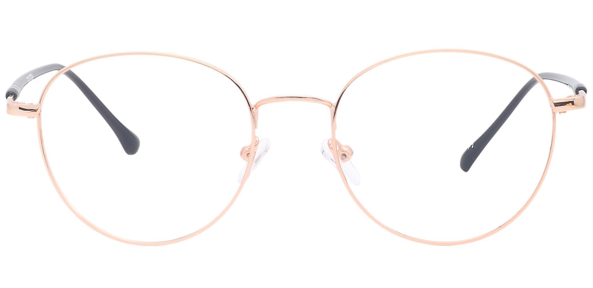 Jayden Oval Non-Rx Glasses - Yellow
