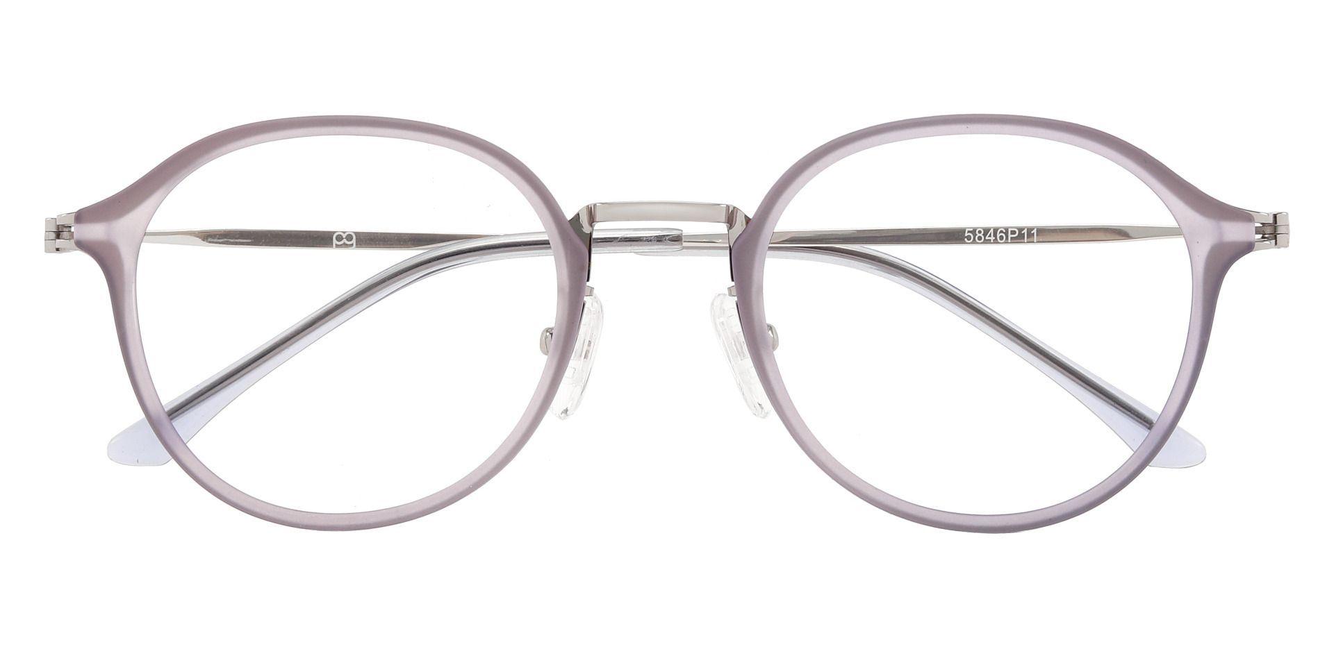 Billings Round Prescription Glasses - Purple