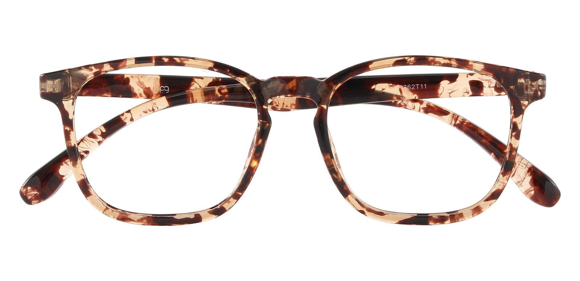 Gateway Square Prescription Glasses - Tortoise