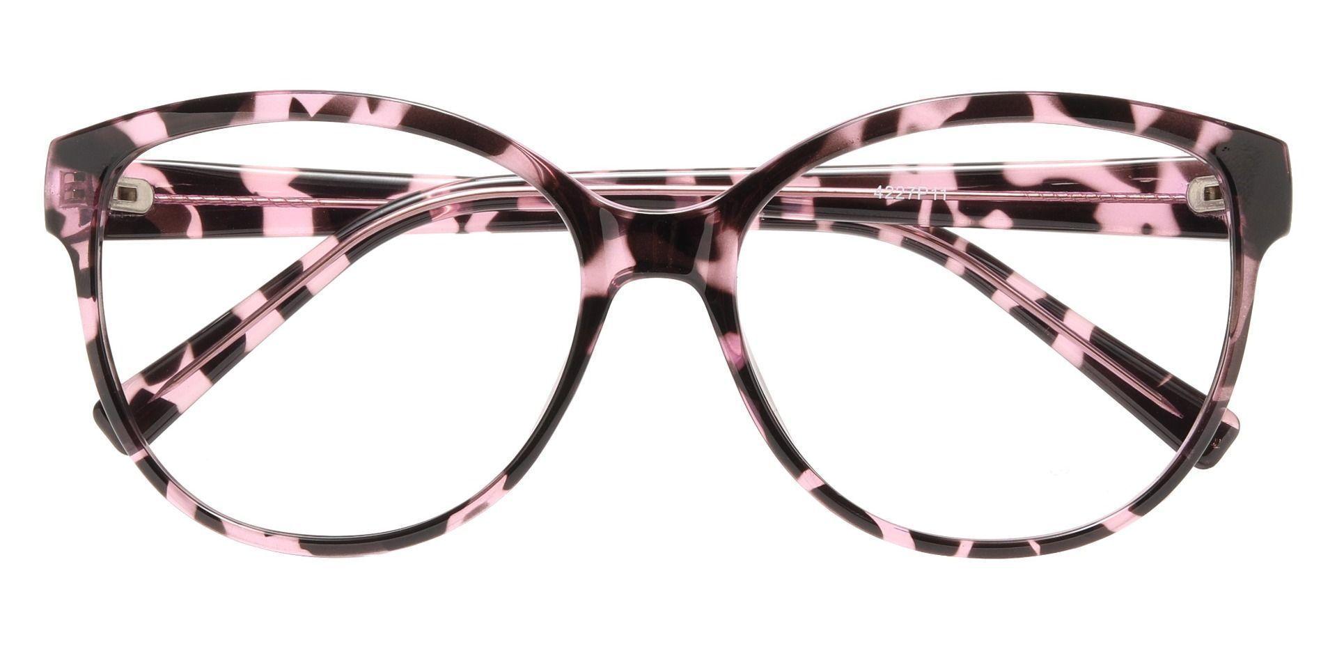 Rabia Oval Prescription Glasses - Purple