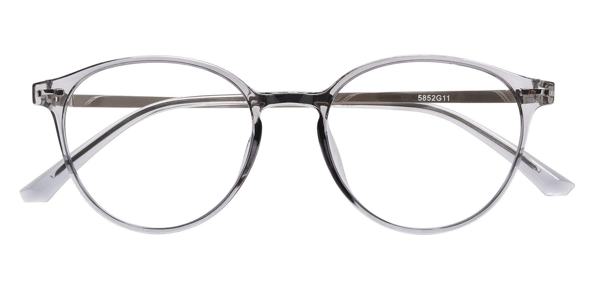 Springer Round Prescription Glasses - Gray