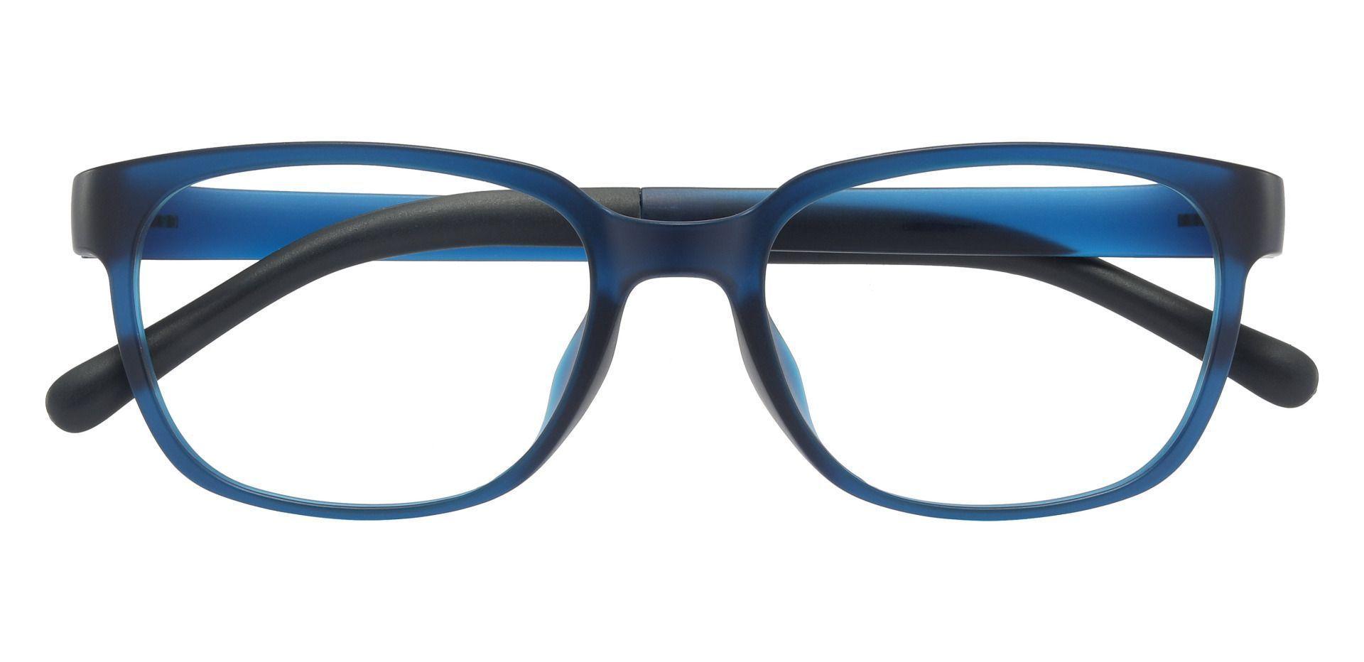 Orchard Rectangle Prescription Glasses - Blue
