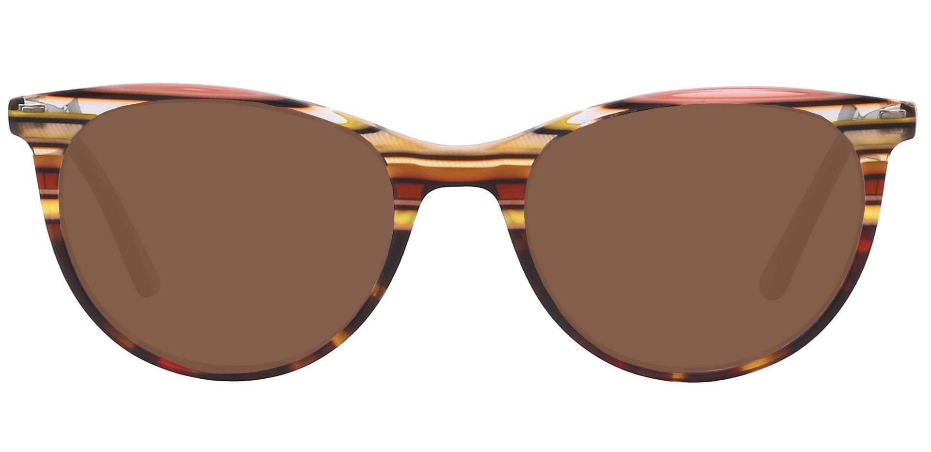 Patagonia Oval Prescription Sunglasses - Brown Frame With Brown Lenses