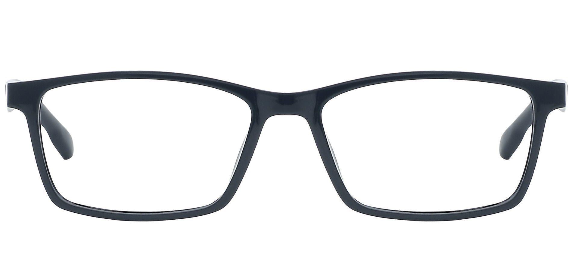 Veranda Rectangle Prescription Glasses - Black