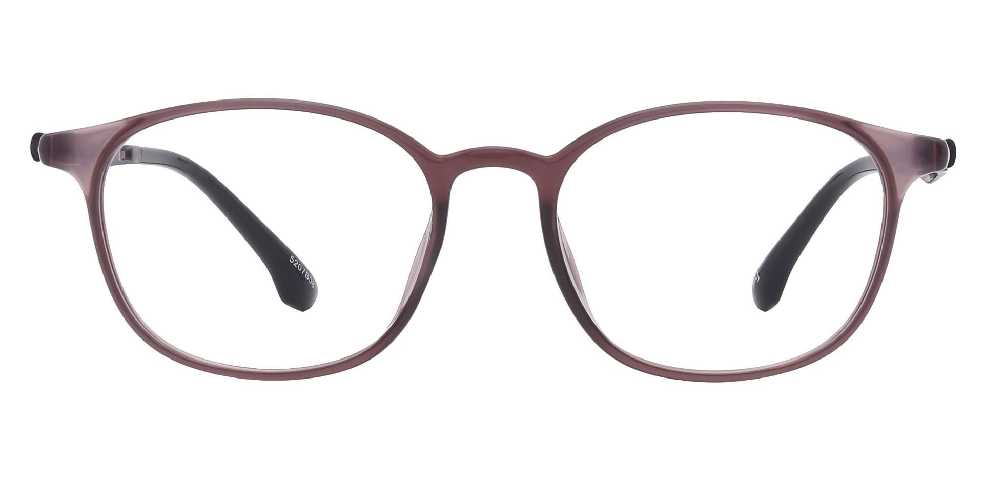 Shannon Oval Prescription Glasses - Brown