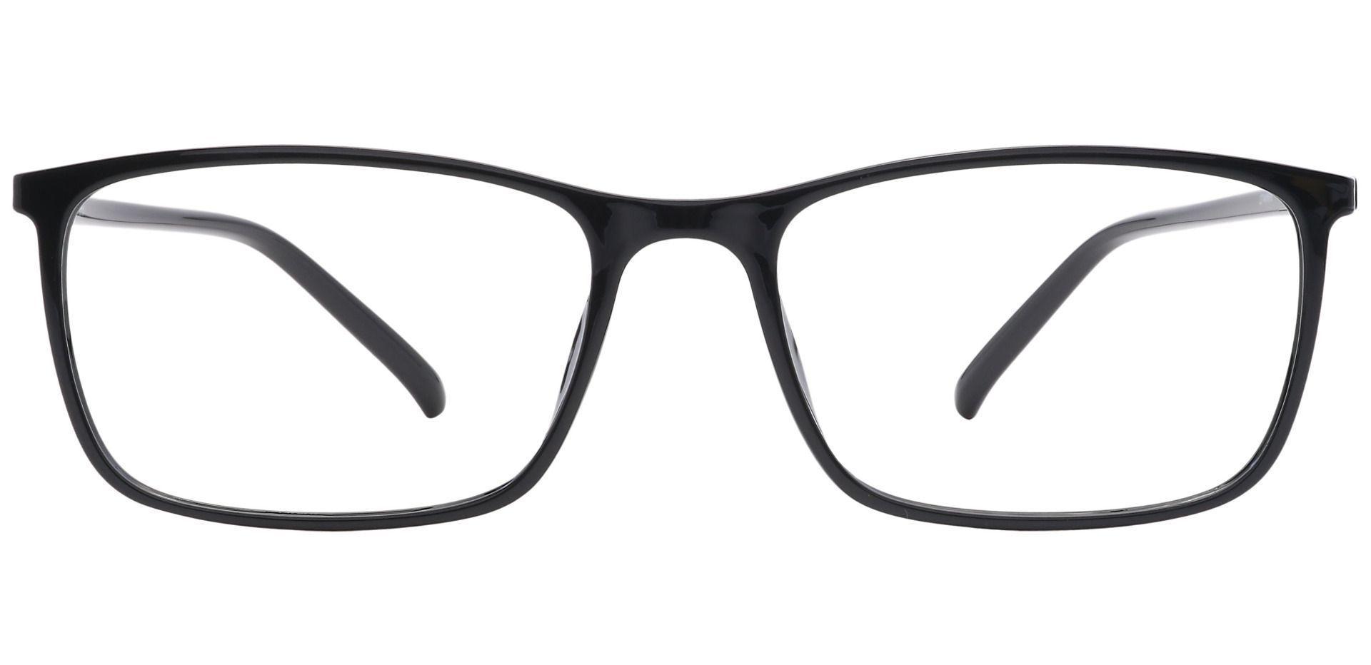 Fuji Rectangle Non-Rx Glasses - Black