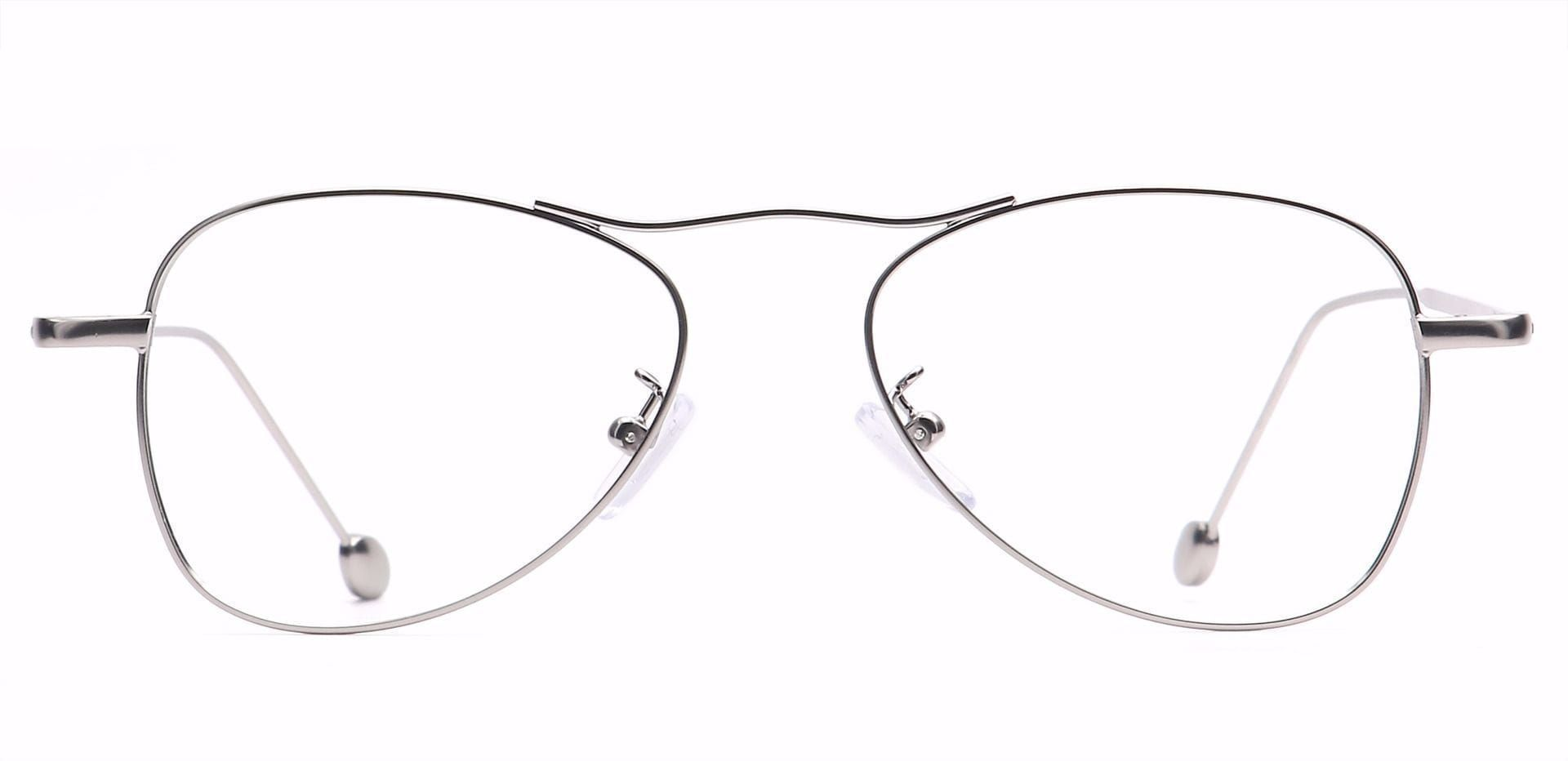 Brio Aviator Reading Glasses - Clear