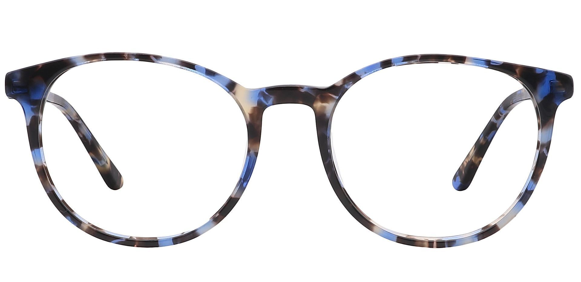 Driver Round Prescription Glasses - Black Havana