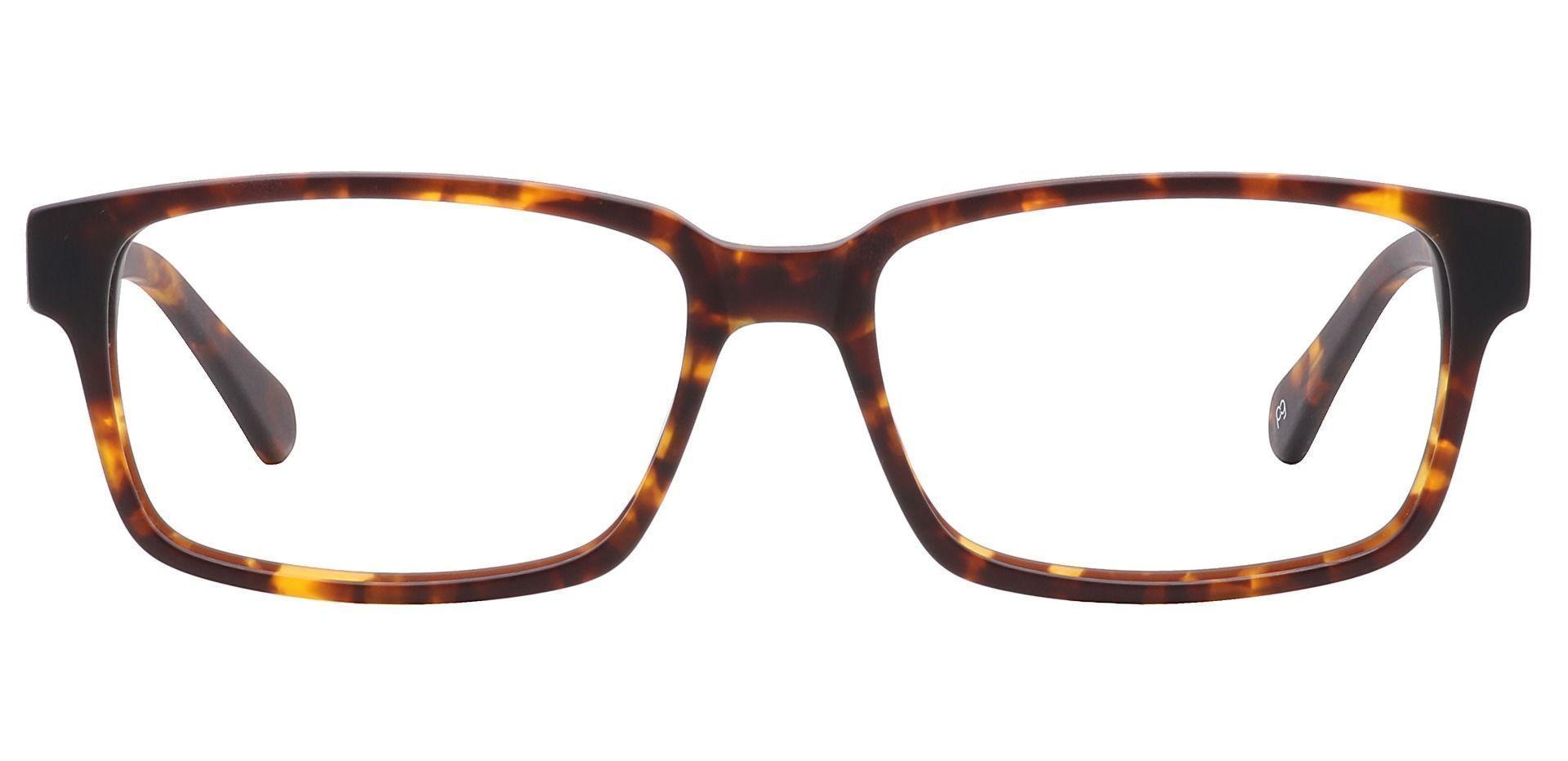 Clifford Rectangle Prescription Glasses - Tortoise