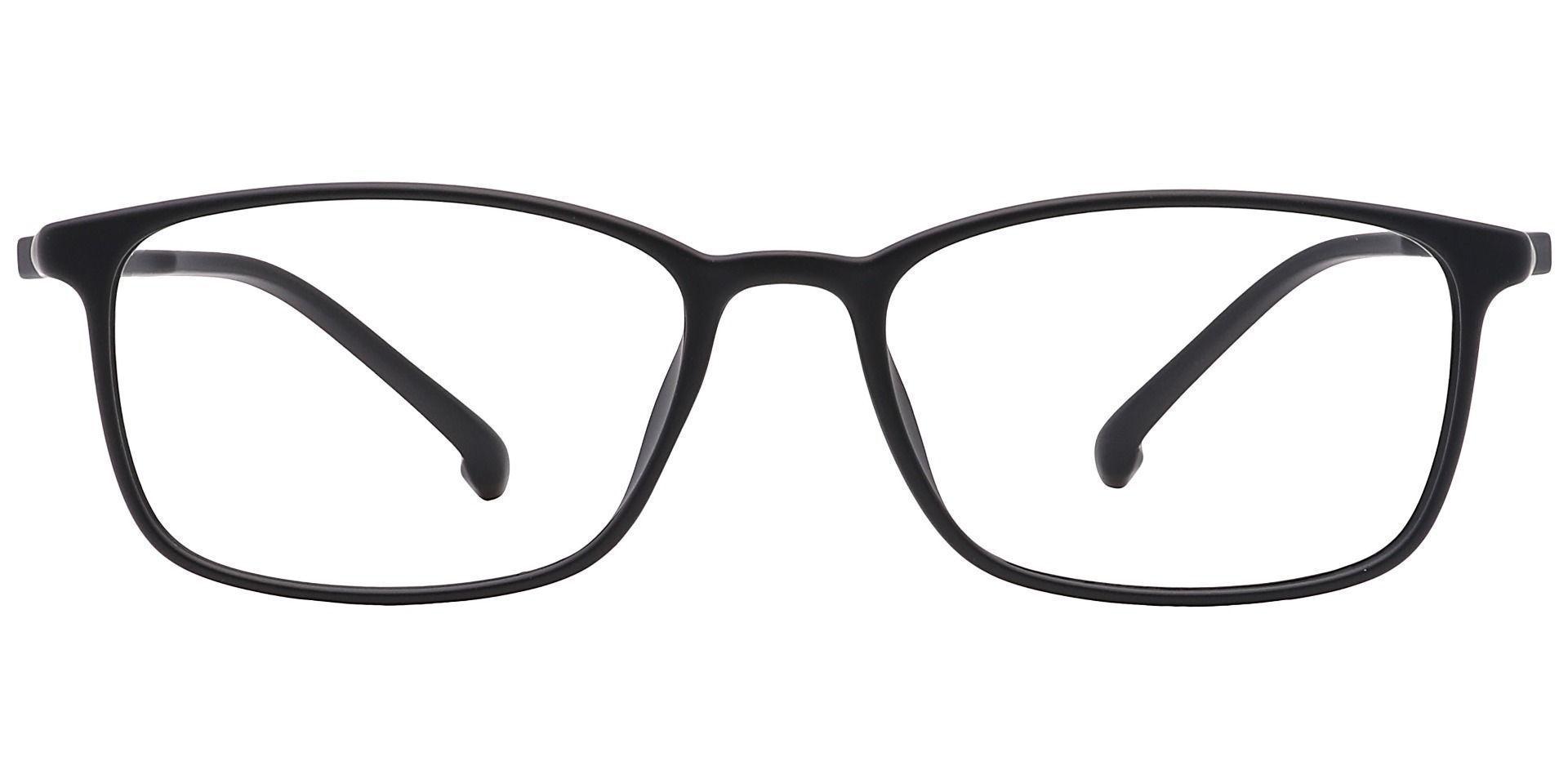 Baldwin Rectangle Prescription Glasses - Black