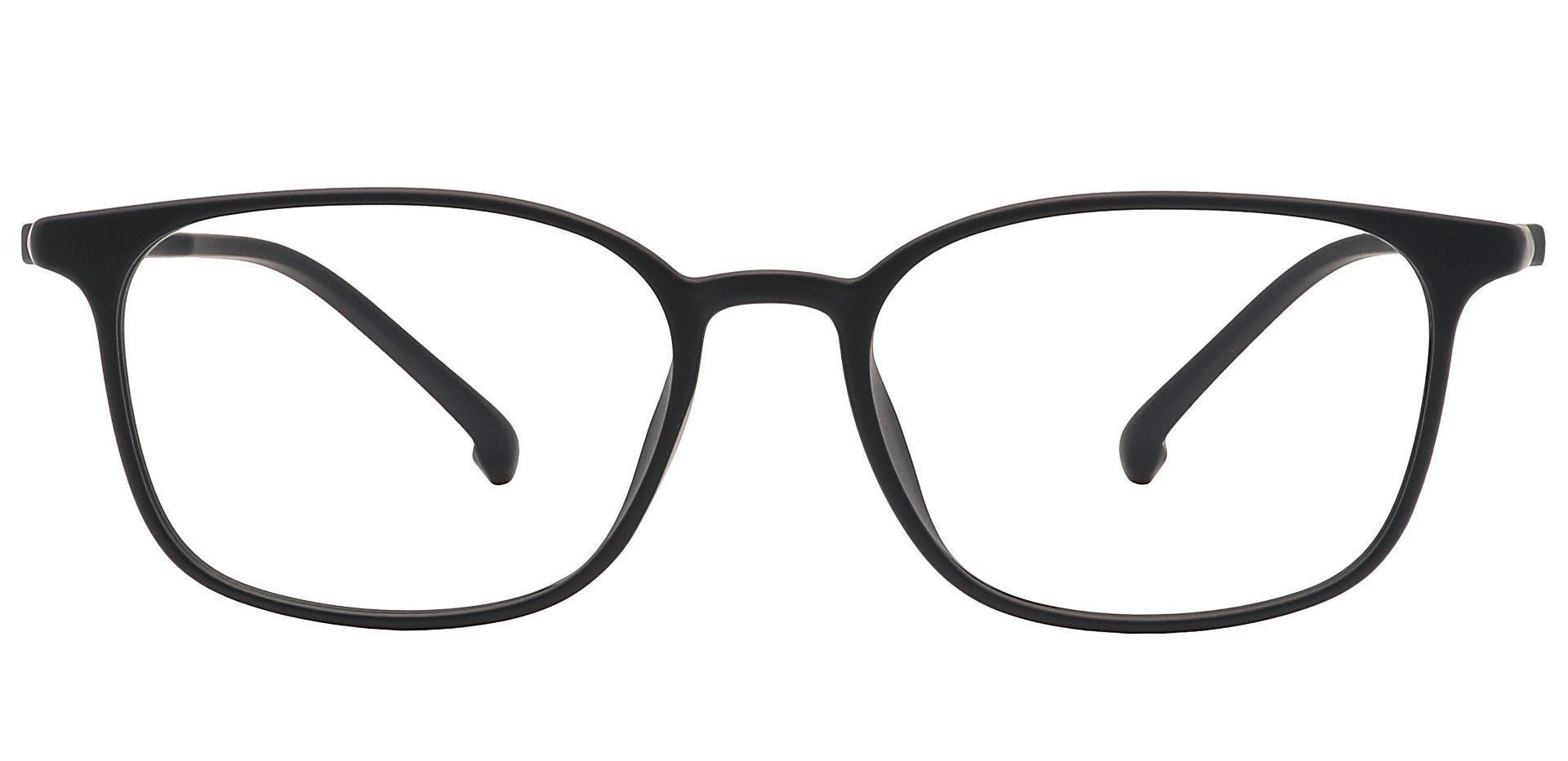 Alston Square Prescription Glasses - Black