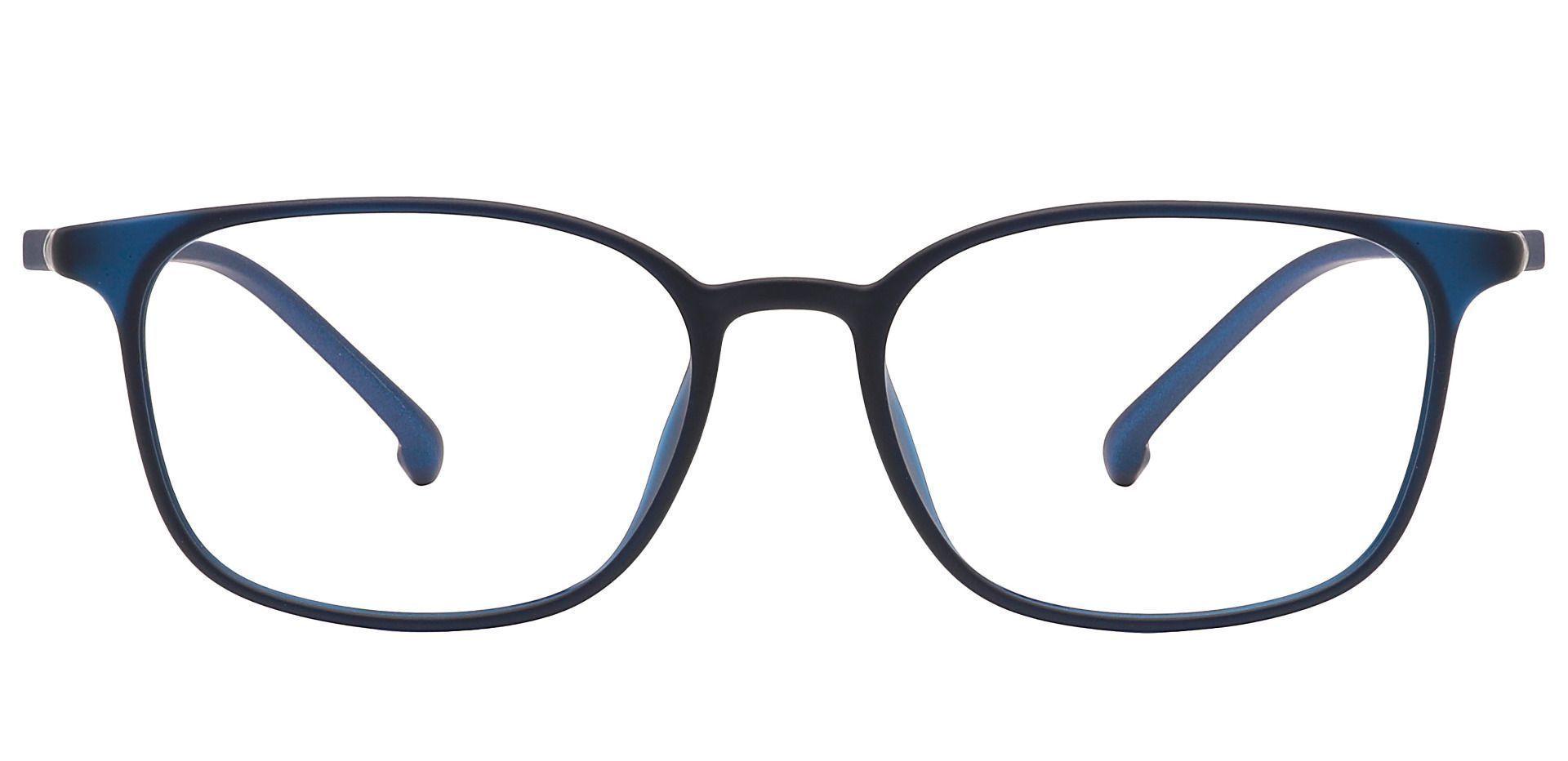 Alston Square Prescription Glasses - Blue