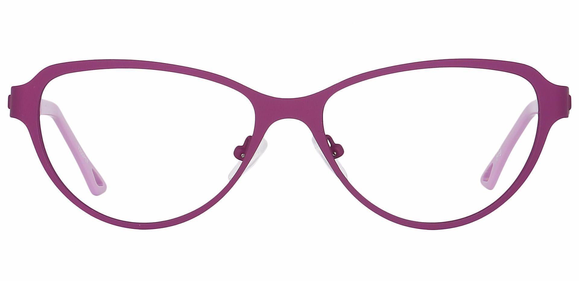 Sierra Cat-Eye Prescription Glasses - Purple