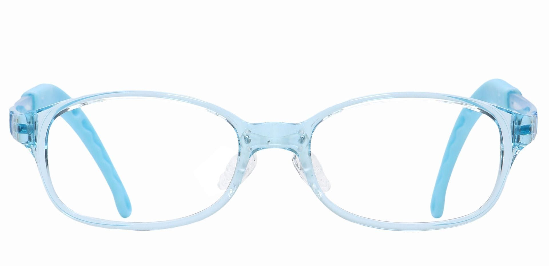 Dainty Rectangle Reading Glasses - Clear