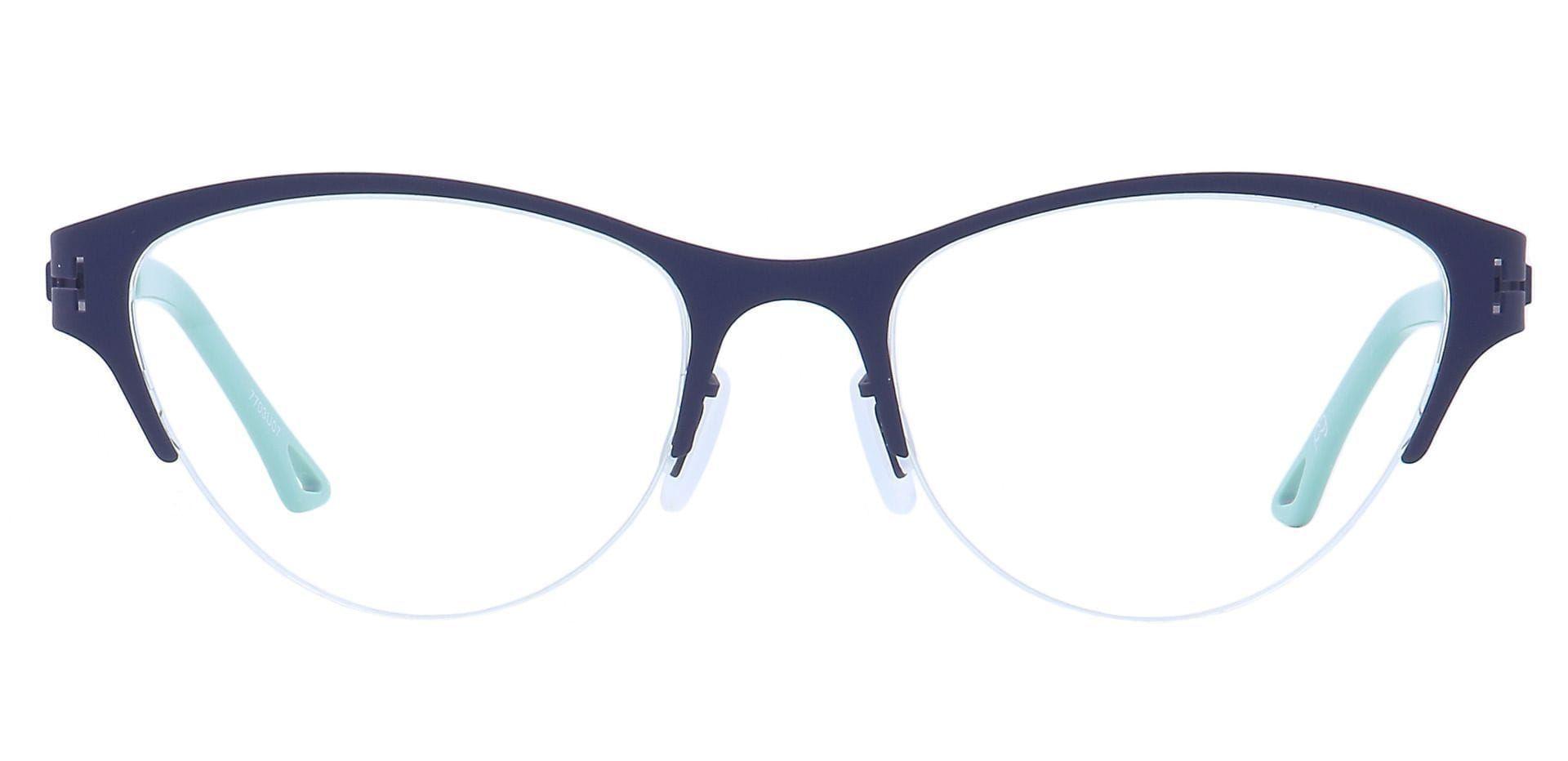 Ain Cat-Eye Reading Glasses - Blue