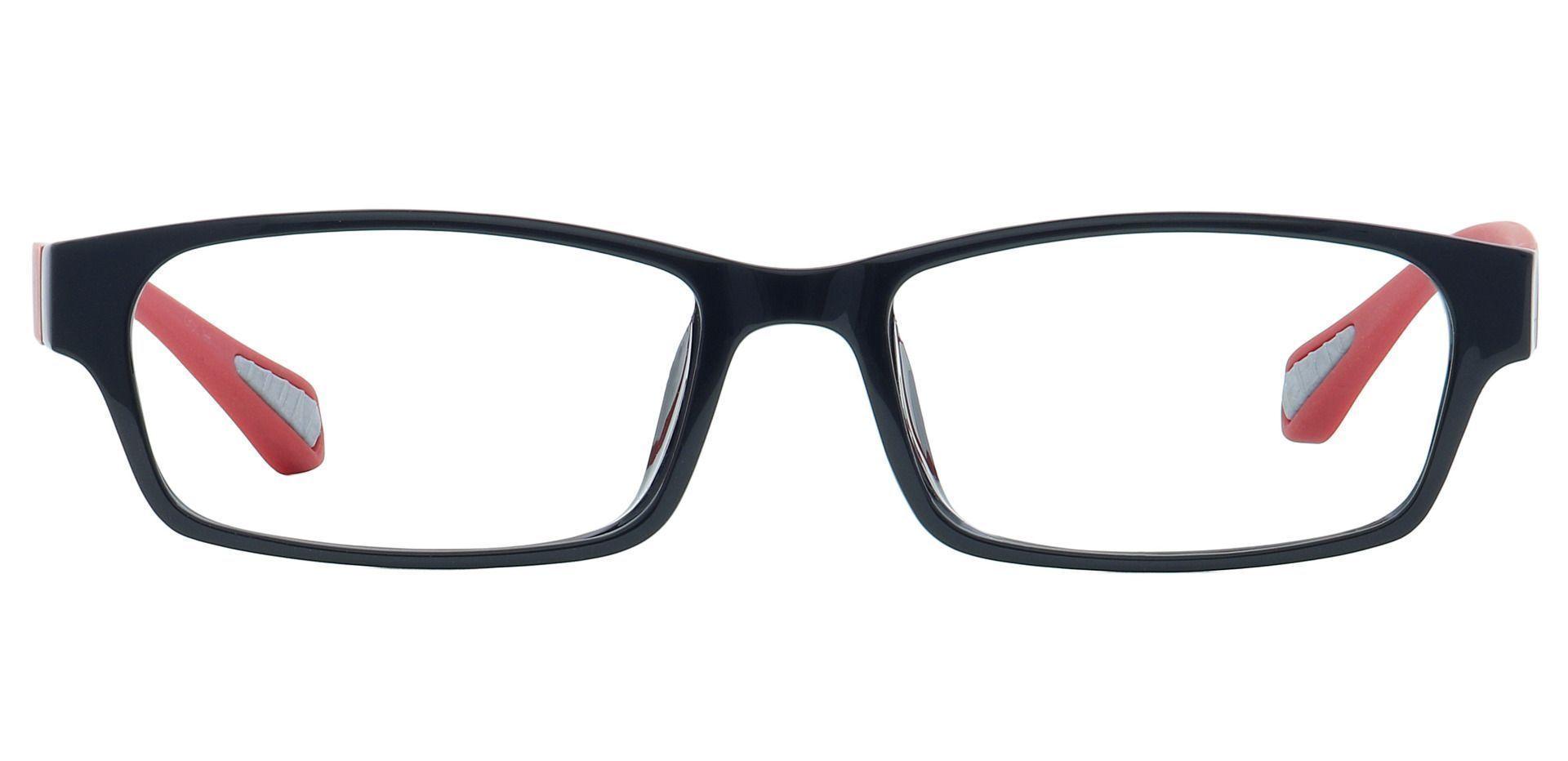 Diego Rectangle Prescription Glasses - Black