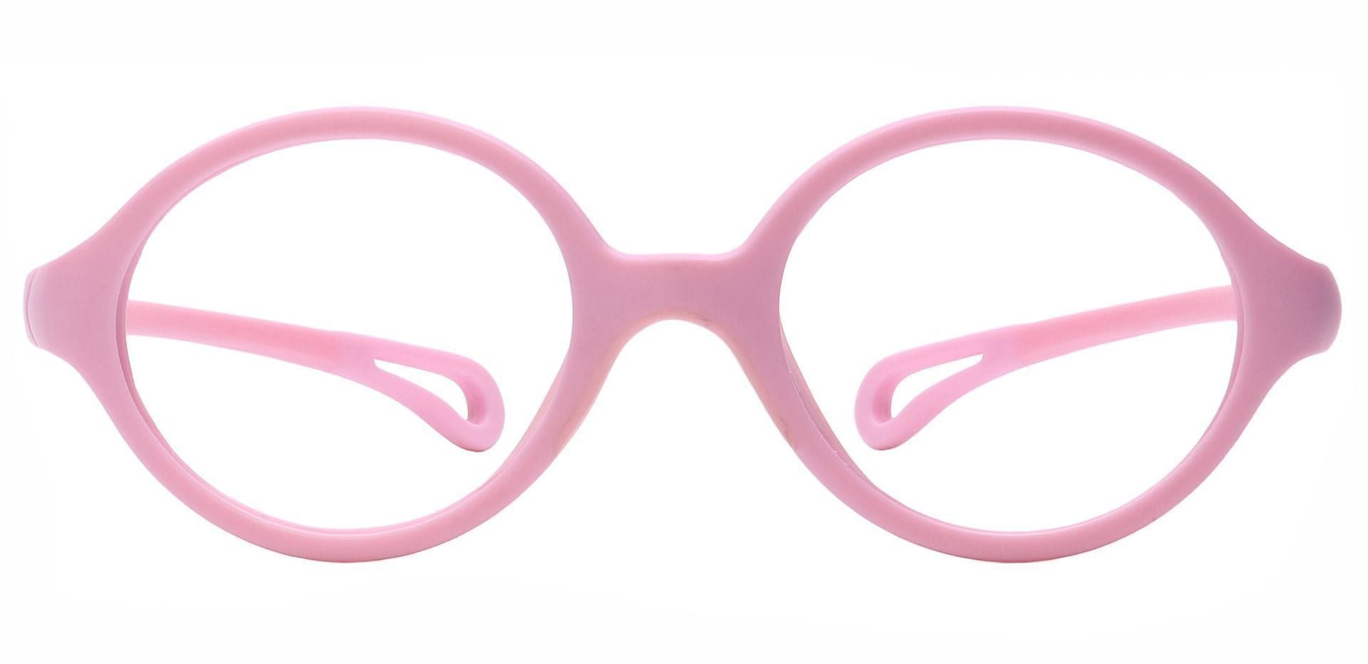 Whimsy Oval Prescription Glasses - Pink