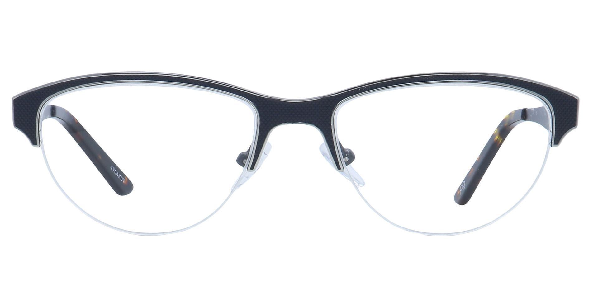Joan Cat-Eye Prescription Glasses - Black